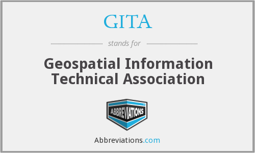 GITA - Geospatial Information Technical Association