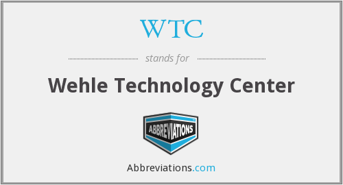 WTC - Wehle Technology Center