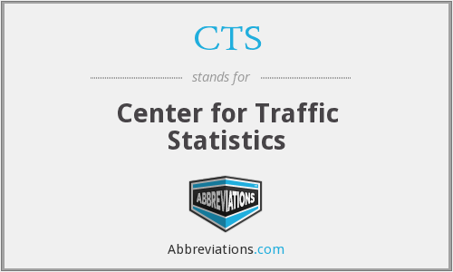 CTS - Center for Traffic Statistics