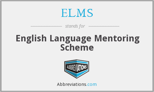 What does ELMS stand for?