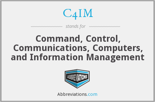 C4IM - Command, Control, Communications, Computers, and Information Management