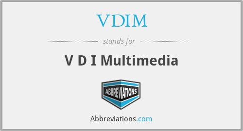 VDIM - V D I Multimedia