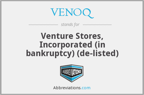 What does VENOQ stand for?