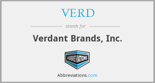 What does VERD stand for?