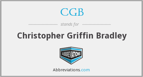 CGB - Christopher Griffin Bradley
