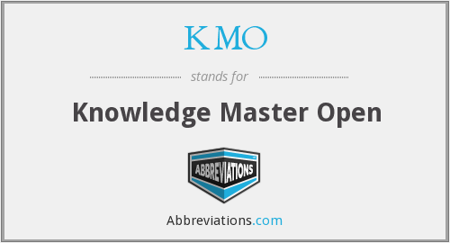What does KMO stand for?