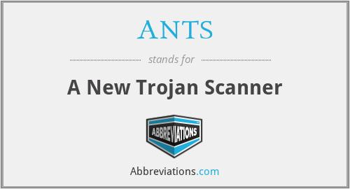 ANTS - A New Trojan Scanner