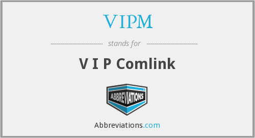 What does VIPM stand for?