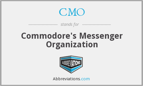 CMO - Commodore's Messenger Organization