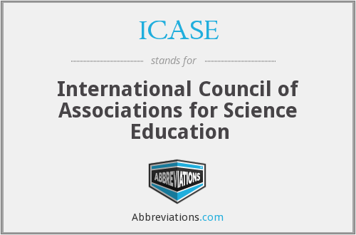 What does ICASE stand for?