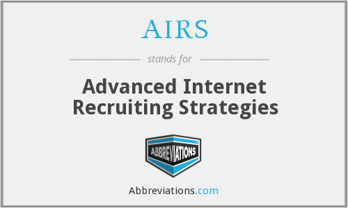 AIRS - Advanced Internet Recruiting Strategies