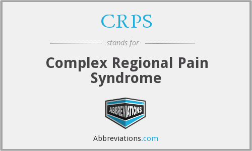 What does CRPS stand for?