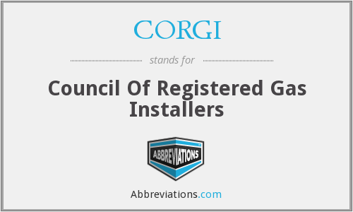 CORGI - Council Of Registered Gas Installers