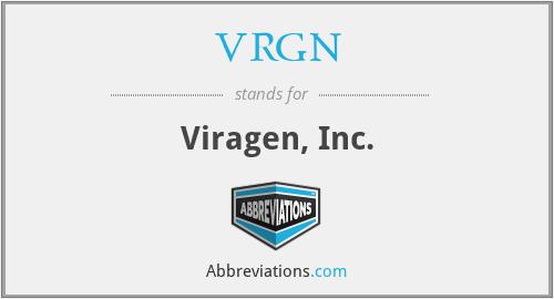 VRGN - Viragen, Inc.