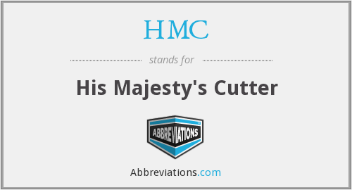 HMC - His Majesty's Cutter