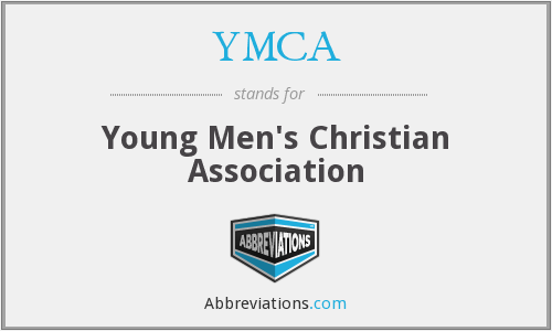 What does YMCA stand for?