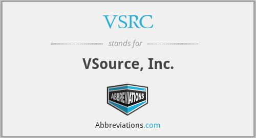 VSRC - VSource, Inc.