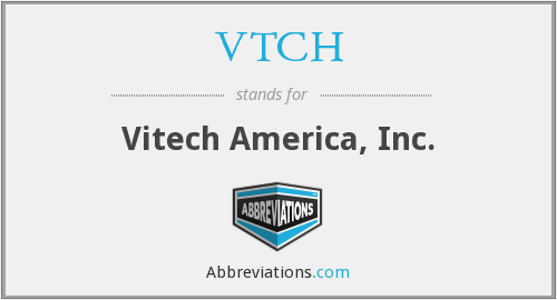 What does VTCH stand for?