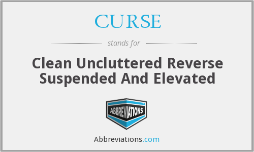 CURSE - Clean Uncluttered Reverse Suspended And Elevated
