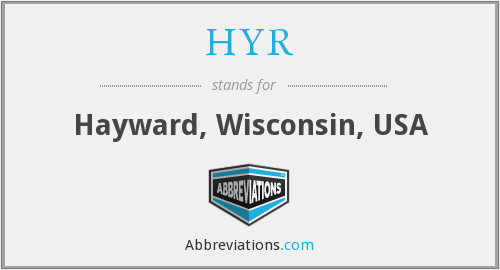HYR - Hayward, Wisconsin, USA