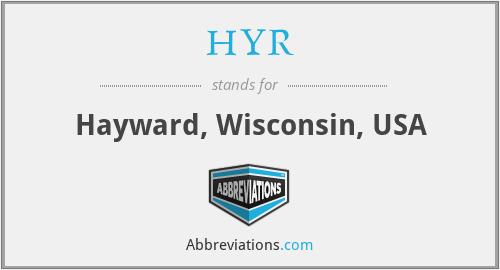 HYR - Hayward, Wisconsin, USA
