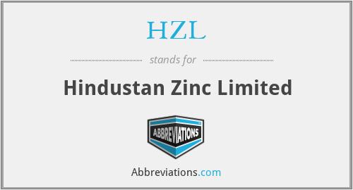 HZL - Hindustan Zinc Limited
