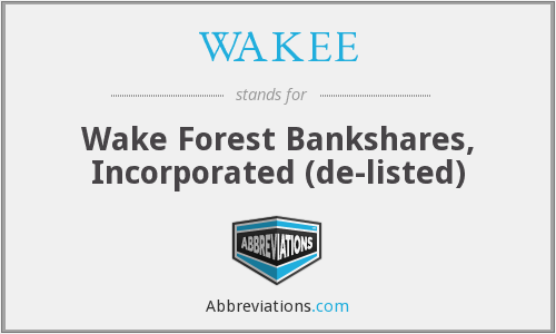 What does WAKEE stand for?