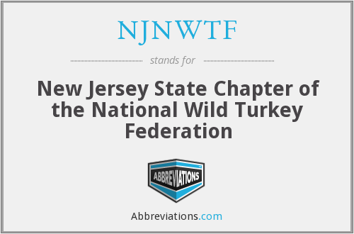 What does NJNWTF stand for?