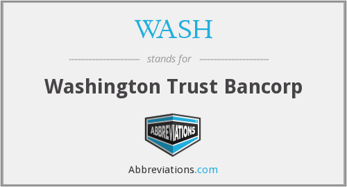 What does WASH stand for?