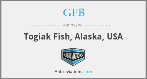 GFB - Togiak Fish, Alaska, USA