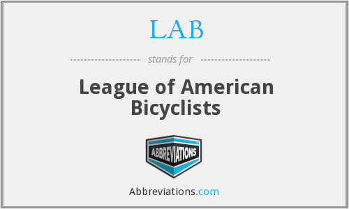 LAB - League of American Bicyclists