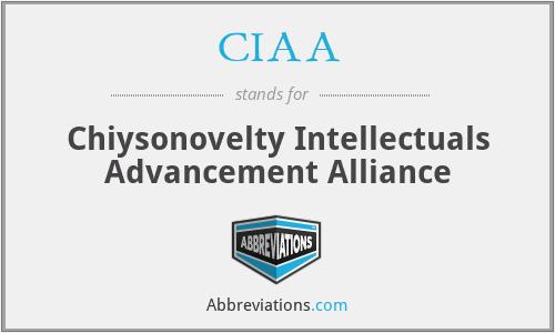 CIAA - Chiysonovelty Intellectuals Advancement Alliance