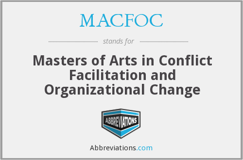 What does MACFOC stand for?