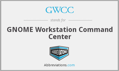 GWCC - GNOME Workstation Command Center