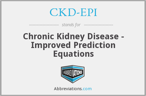 What does CKD-EPI stand for?