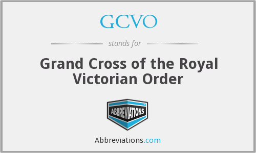 What does GCVO stand for?