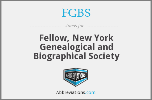 What does FGBS stand for?