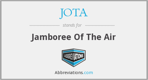 JOTA - Jamboree Of The Air