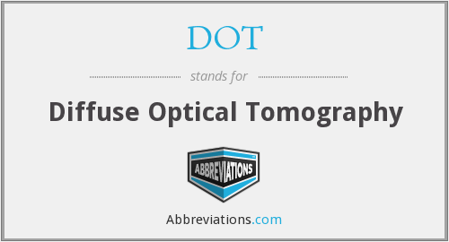 DOT - Diffuse Optical Tomography
