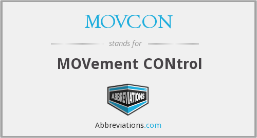 What does MOVCON stand for?