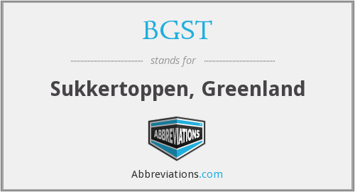 What does BGST stand for?