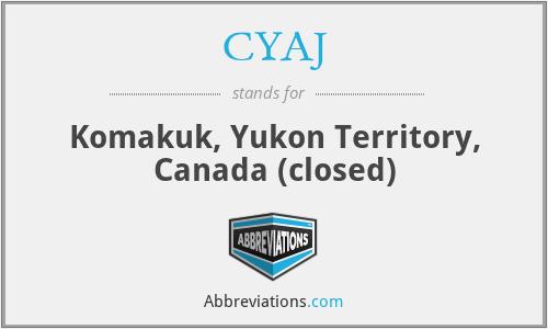 CYAJ - Komakuk, Yukon Territory, Canada (closed)