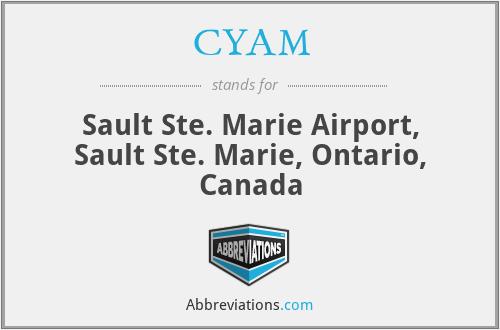 CYAM - Sault Ste. Marie Airport, Sault Ste. Marie, Ontario, Canada
