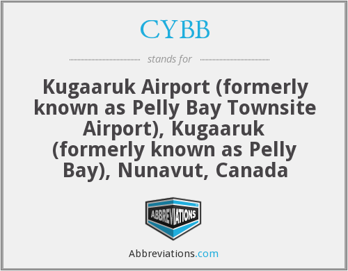 CYBB - Kugaaruk Airport (formerly known as Pelly Bay Townsite Airport), Kugaaruk (formerly known as Pelly Bay), Nunavut, Canada