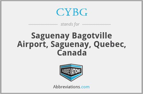 CYBG - Saguenay Bagotville Airport, Saguenay, Quebec, Canada