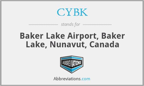 CYBK - Baker Lake Airport, Canada
