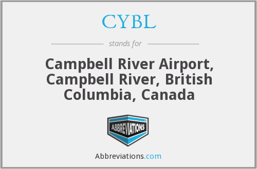 CYBL - Campbell River Airport, Campbell River, British Columbia, Canada