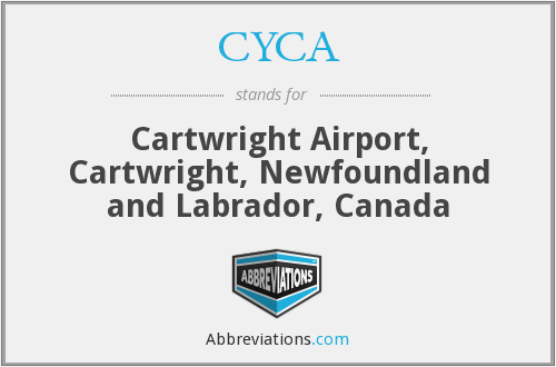 CYCA - Cartwright Airport, Canada