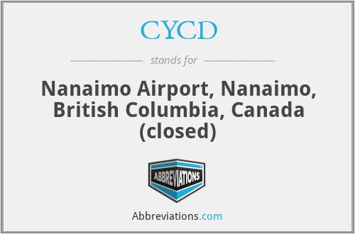 CYCD - Nanaimo Airport, Canada