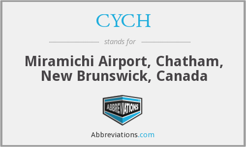 CYCH - Chatham Airport, Canada